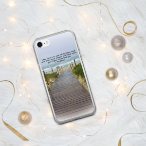 Soul Seeker iPhone Case end of the path